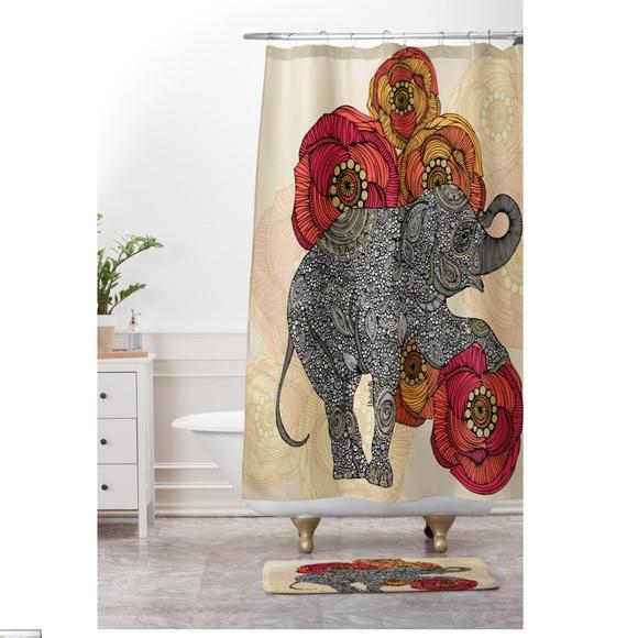 VALENTINA RAMOS Shower Curtain Elephant Print M 5b5b2de91b16db7a68cd4139